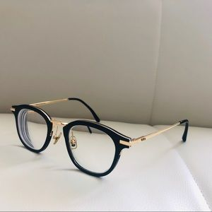Gentle Monster optical frame with sunglasses clip